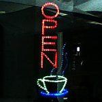 The Entrance lights