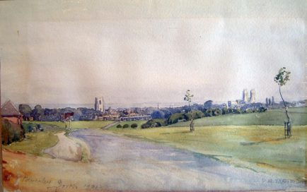 PA Travers-Smith, view of Beverley, Yorkshire