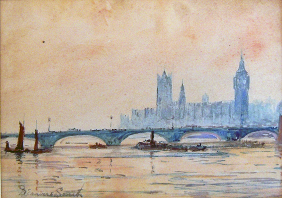 PA Travers-Smith, View of Westminster Palace