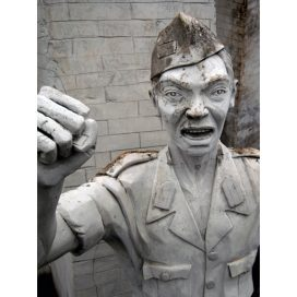 Statue at MONAS Jakarta