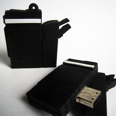 Photo-copier flash drive