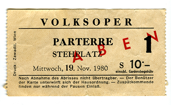 Volksoper ticket