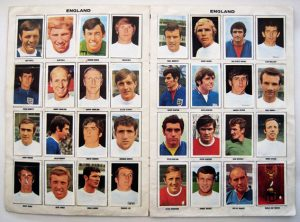 England 1970 World Cup Squad