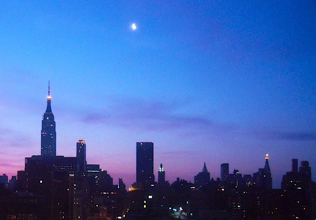 Manhattan at dawn